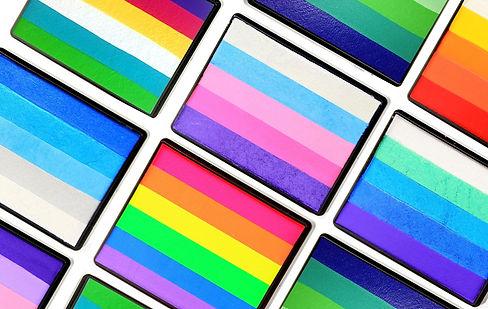 rainbow face paints Wellington New Zealand