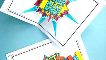 super dad cards