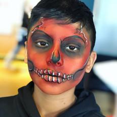 Red Demon face paint