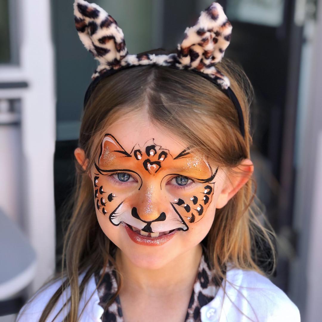 Leopard Cheetah girl