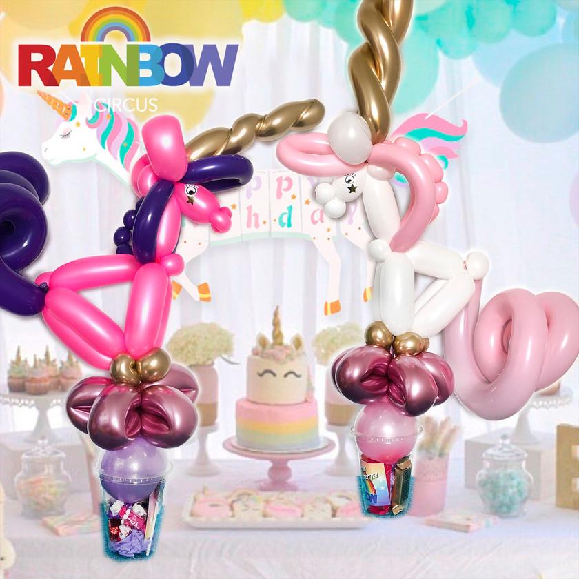unicorn balloon twisting Wellington New Zealand