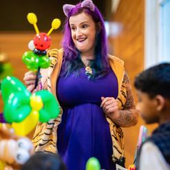 Balloon twister lady