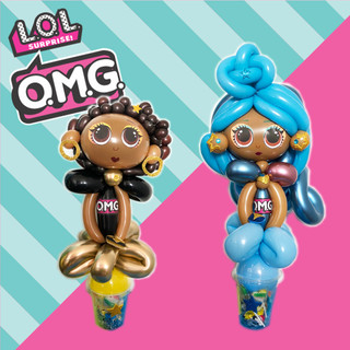 OMG LOL Dolls balloons