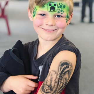 Minecraft face painting