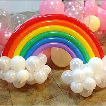 rainbow balloon twisting Wellington New Zealand