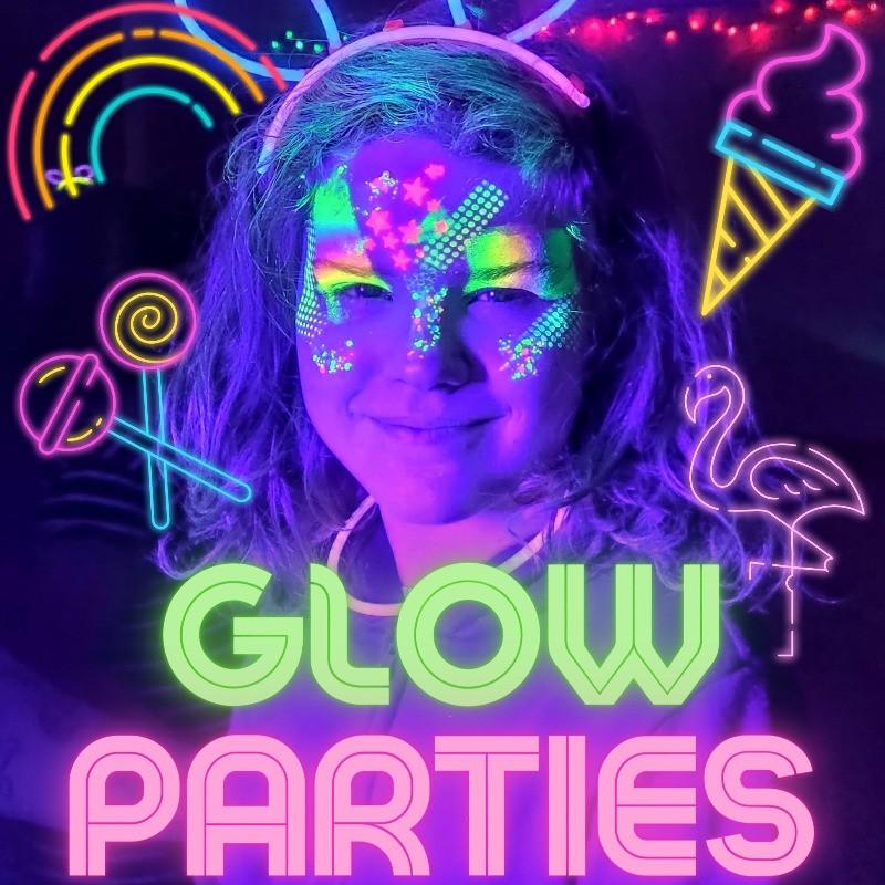 Neon UV Glow Parties