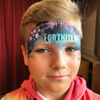 Fortnite face painting