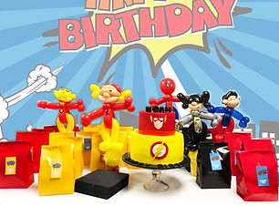 superhero party balloons  Wellington New Zealand