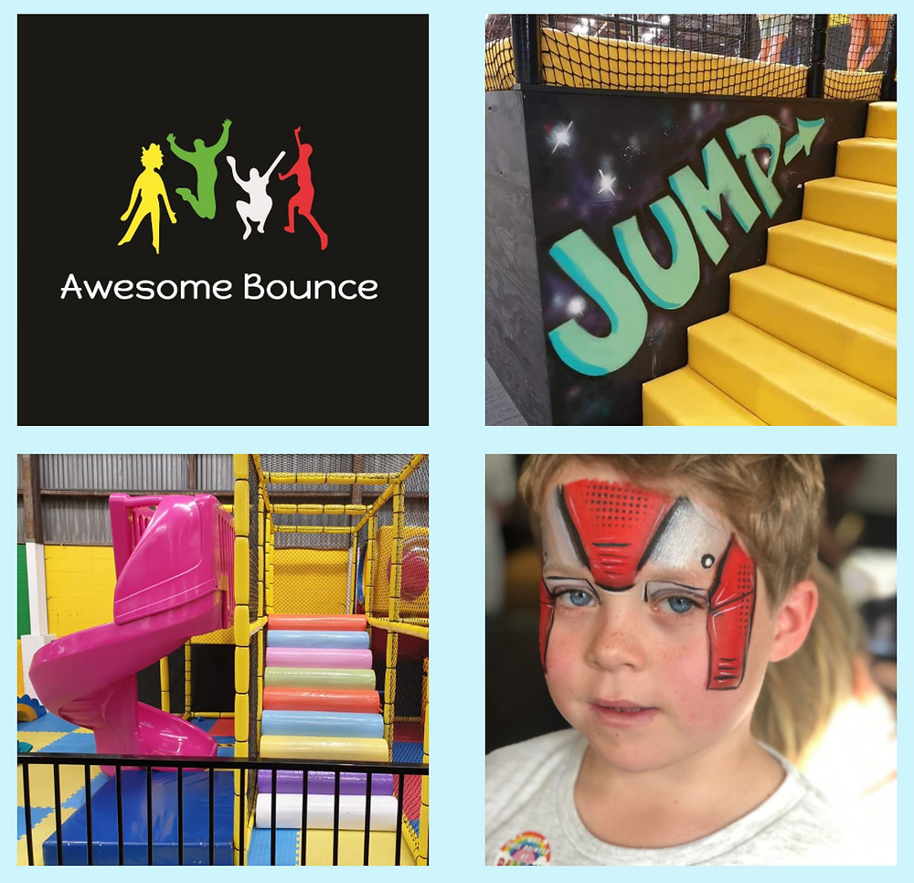 Awesome Bounce free kids entertainment face painting and balloon twisting