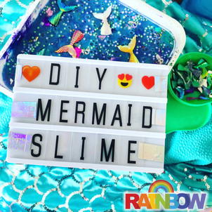 Mermaid Slime Workshop DIY Kids Wellington New Zealand