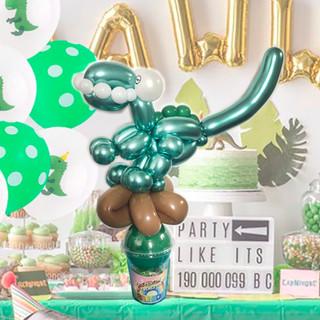 dinosaur balloon