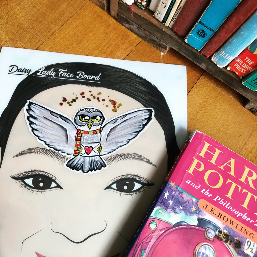 Harry Potter Hedwig Owl Face Painting Wellington New Zealand