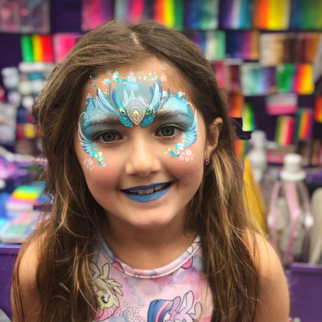Frozen Elsa Princess Face Painting