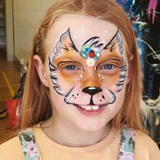 Foxy face paint