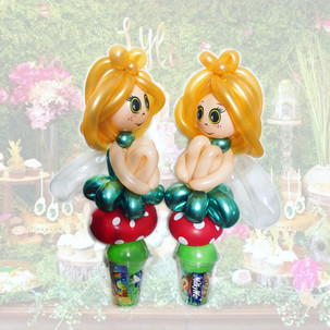 Fairy balloon twisting party favour Wellington New Zealand