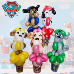 Paw Patrolballoon twisting
