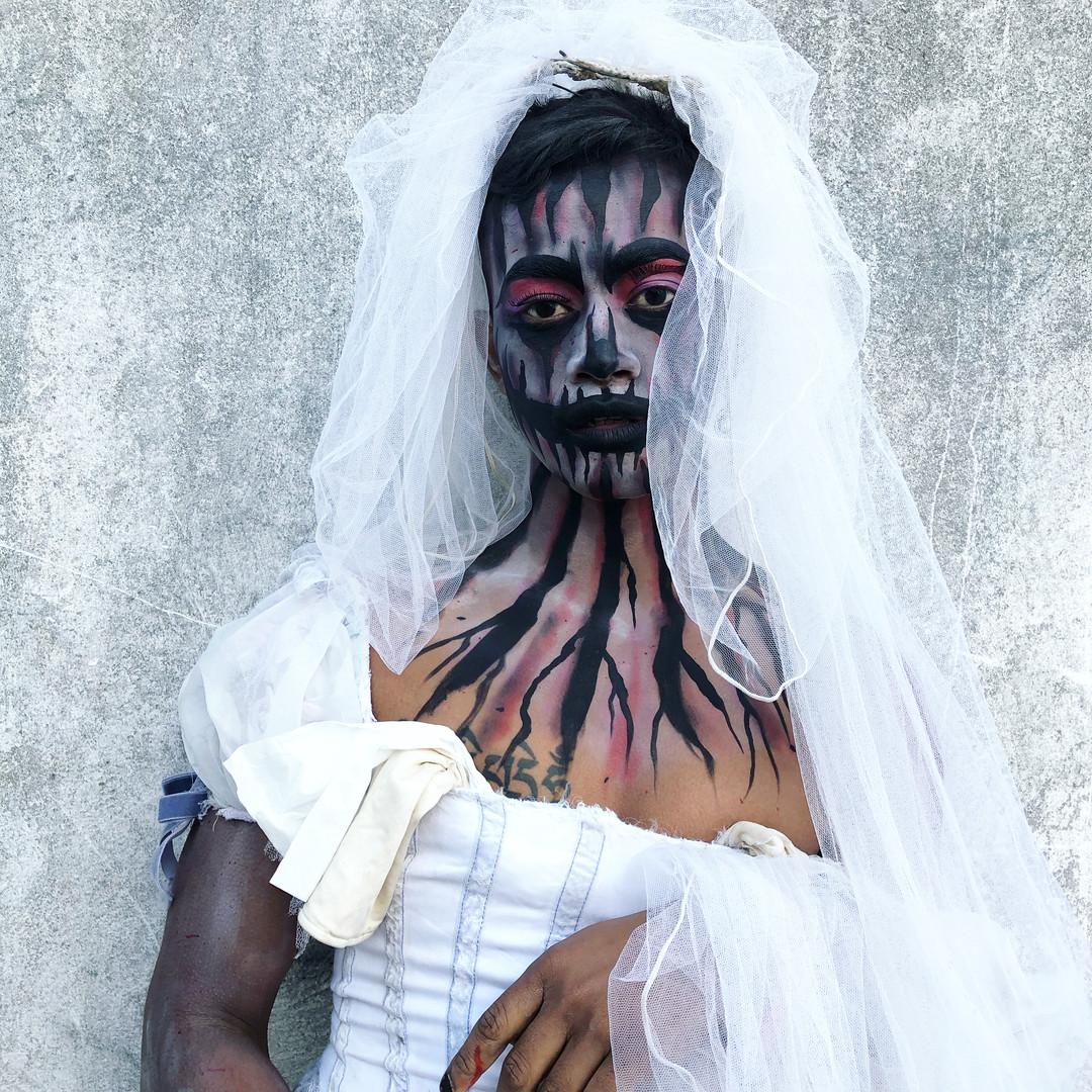 Corspe Bride makeup
