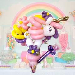 big unicorn balloon