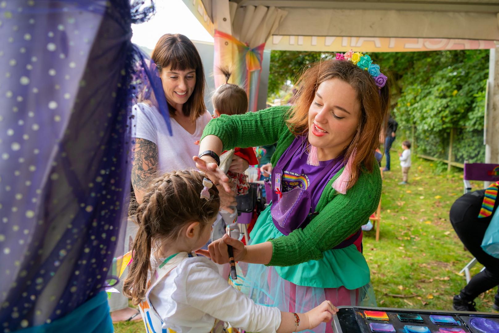 Rainbow Circus Face Painters Wellington New Zealand