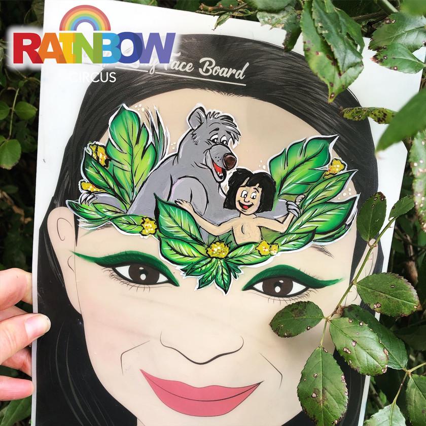 Jungle Book face painting Wellington New Zealand