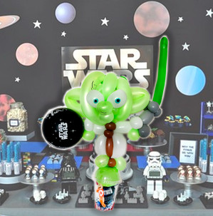 Star Wars Yoda Balloon twisting party favour Wellington New Zealand