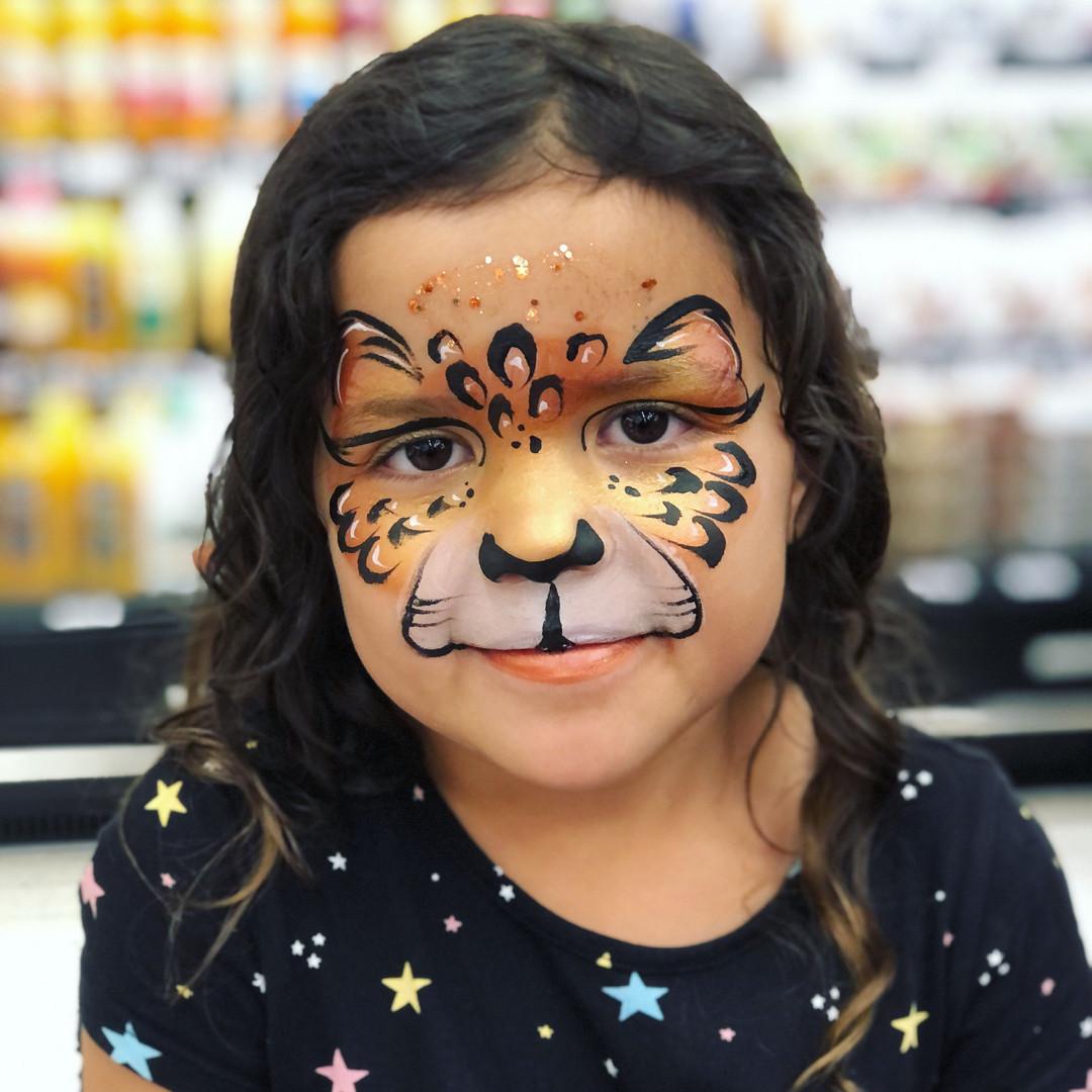 Golden Cheetah leopard