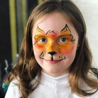 Fox Face Paint
