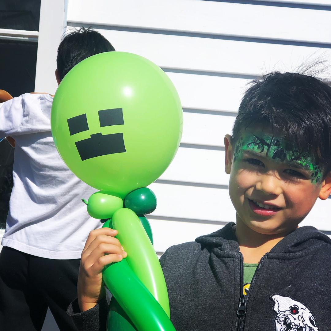 Minecraft Creeper Balloon