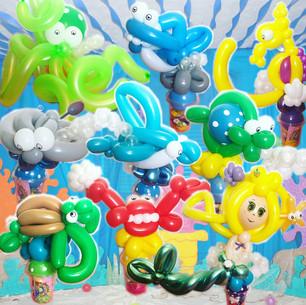 under the sea balloon animals Wellington New Zealand