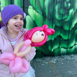 Evie balloon