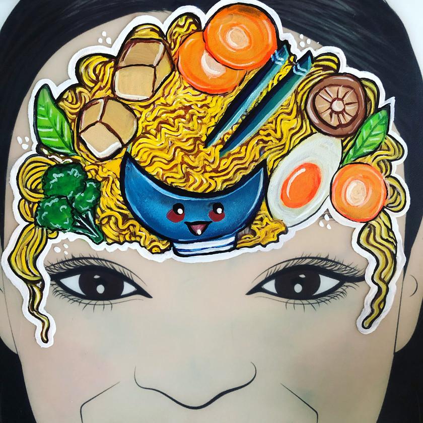 Noodles Face Painting food Wellington New Zealand