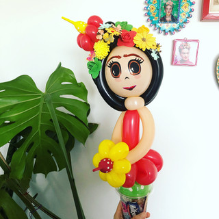 Frida Kahlo Balloon