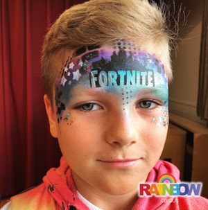 Fortnite video game face painting Wellington New Zealand