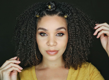 Summer Hairstyle - Bantu Knot Crown