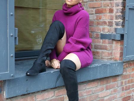 Chunky Sweater Dress