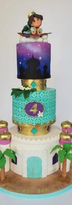 Scarlett's 4th Birthday Dream Cake