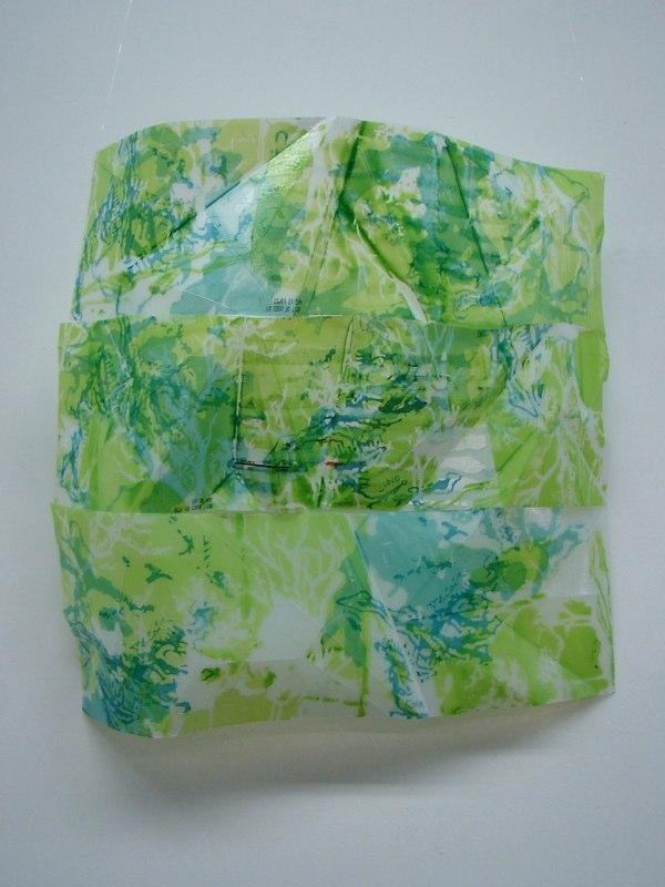 Monoprint on Plastic
