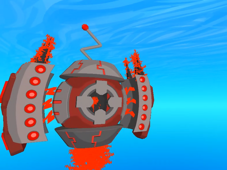 Scrap Seas:  A Game With Crazy Hover Robots RAWR!