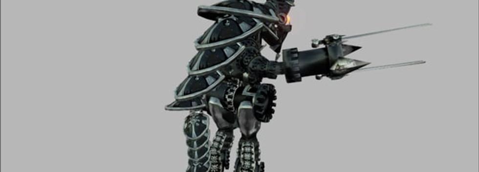 Knight Golem Attack