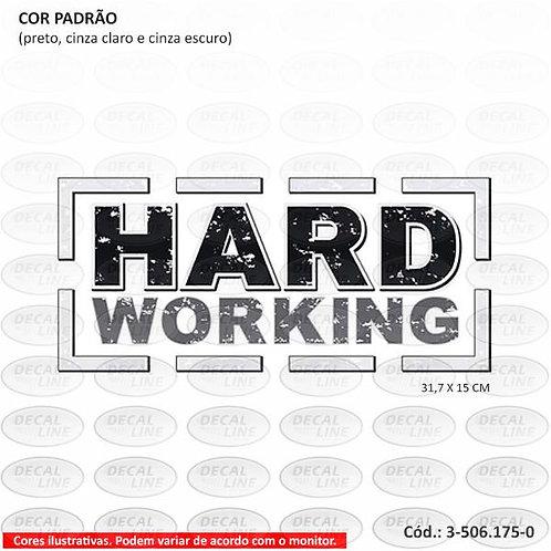 Emblema Auto Adesivo Hard Working Strada Modelo 2015