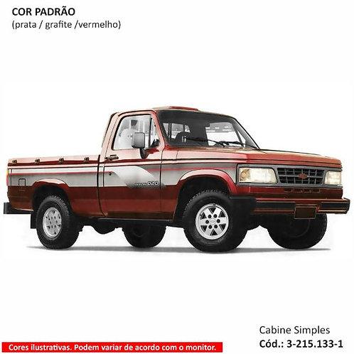Faixa Auto Adesiva D20 1996 - Cabine Simples