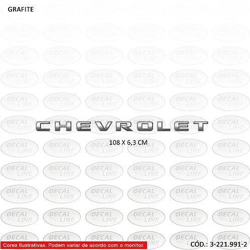 Emblema Auto Adesivo Para Chevrolet S10 Modelo 2009