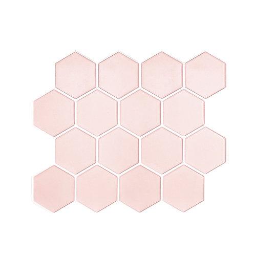 Econômica - Linha Hexagon - Rosé Quartz