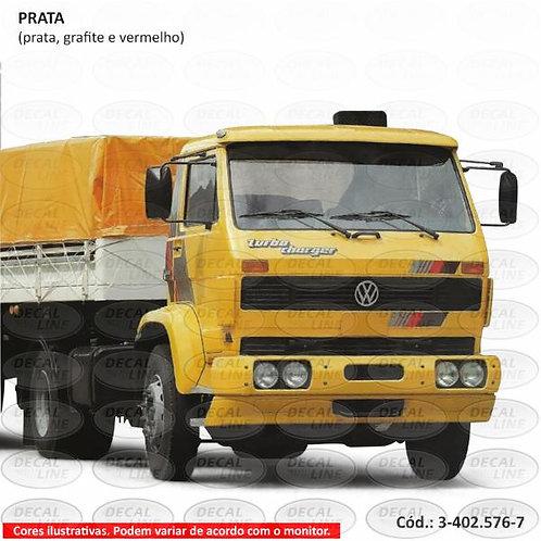 Faixa Auto Adesiva Para Caminhão Volks Modelo 1991