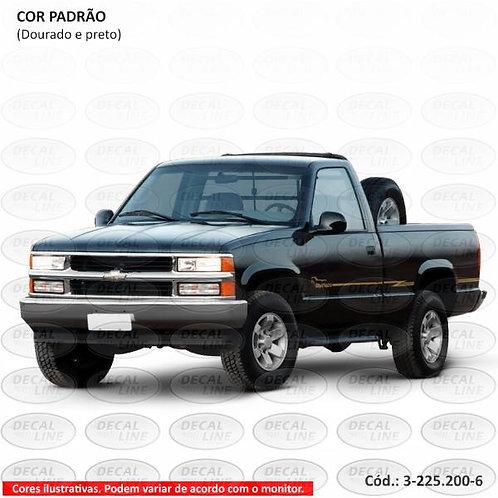 Faixa Auto Adesiva Para Chevrolet Silverado D20 2000