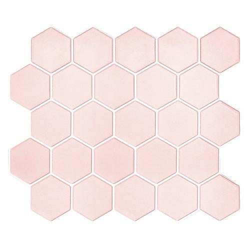 Linha Hexagon - Rose Quartz