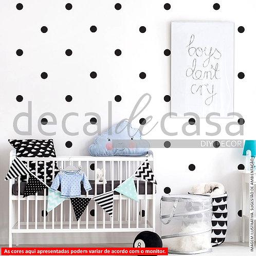 Wall Sticker (Adesivo de Parede) - Dots
