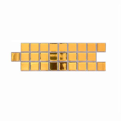 Econômica (Border) - Linha Standard - Yellow Gold