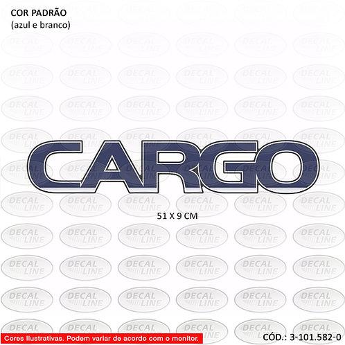 Emblema Auto Adesivo Ford Cargo Grande Resinado