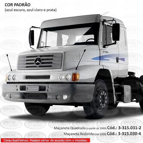 Faixa Auto Adesiva Caminhão MB 1634 Maçaneta Redonda